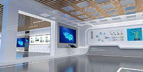 科技展厅装修-企业展厅设计-合肥展厅设计装修公司-卓创家装案例