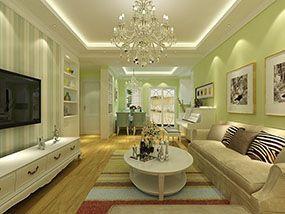 合肥颐和家园二手房装修设计案例-乐通家装案例