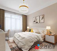 琥珀瑞安家园现代简约装修案例-乐通家装案例