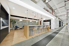 办公室装修_写字楼效果图设计_工装设计案例-卓创家装案例