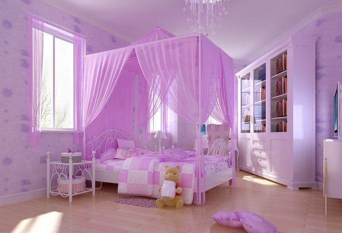 深紫色的颜色搭配家居效果