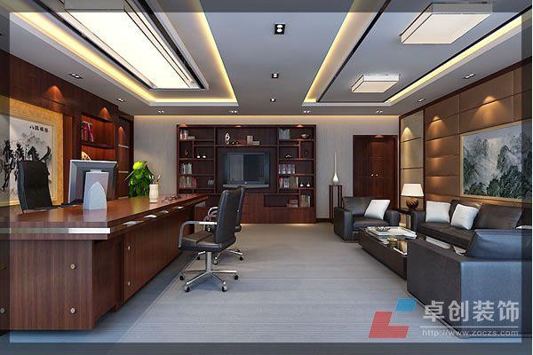 时尚前卫办公室装修风格