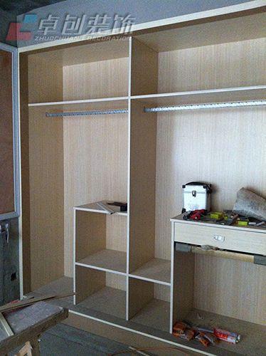 合肥装修公司家庭装修木工阶段施工工艺现场