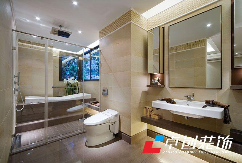 卫生间简约风格设计