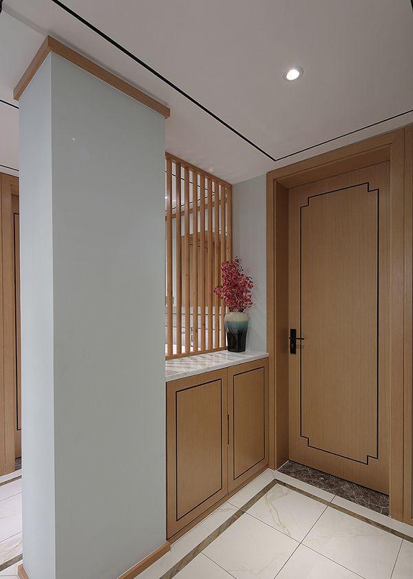 中式简约客厅隔断要怎么装修设计
